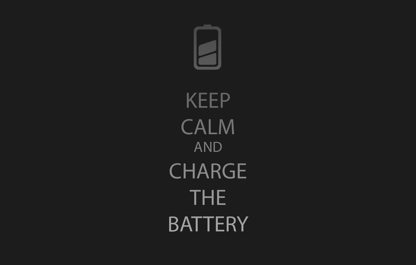 Wallpaper Minimal Calm Charge Battery Keep Images For