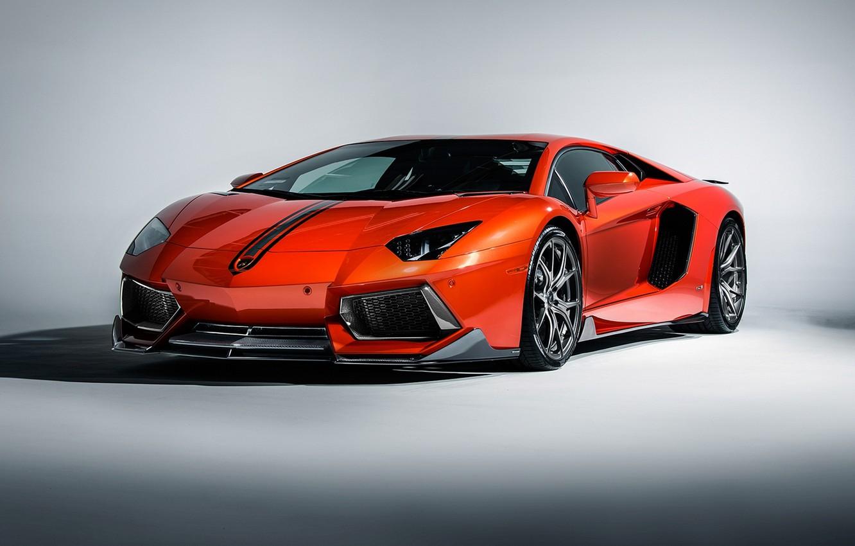Photo wallpaper supercar, lamborghini, coupe, roadster, aventador, Lamborghini, aventador, lp-700-4, 2015
