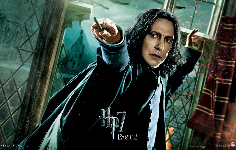 Photo wallpaper hogwarts, Hogwarts, Harry Potter and the deathly Hallows, part 2, professor, part 2, teacher, severus …
