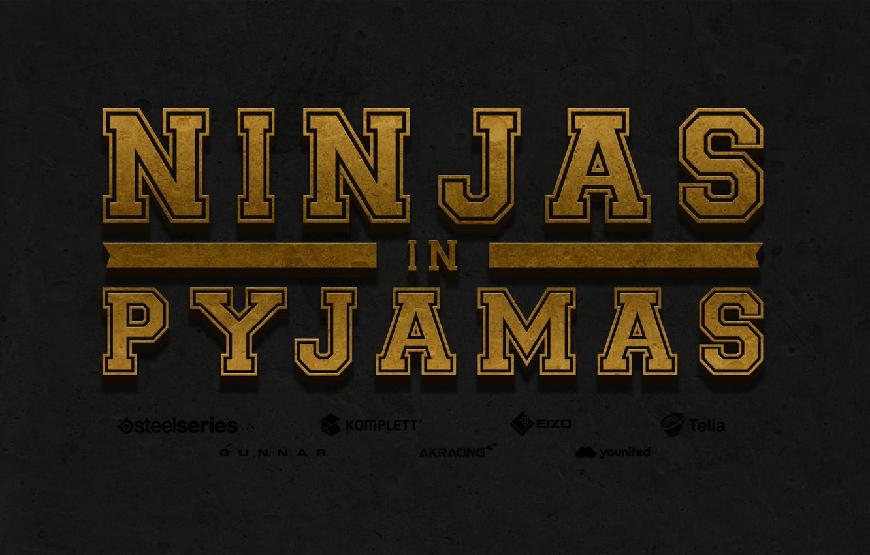 Photo wallpaper Counter-Strike, CSGO, NiP-Gaming, NiP, Ninjas in Pyjamas