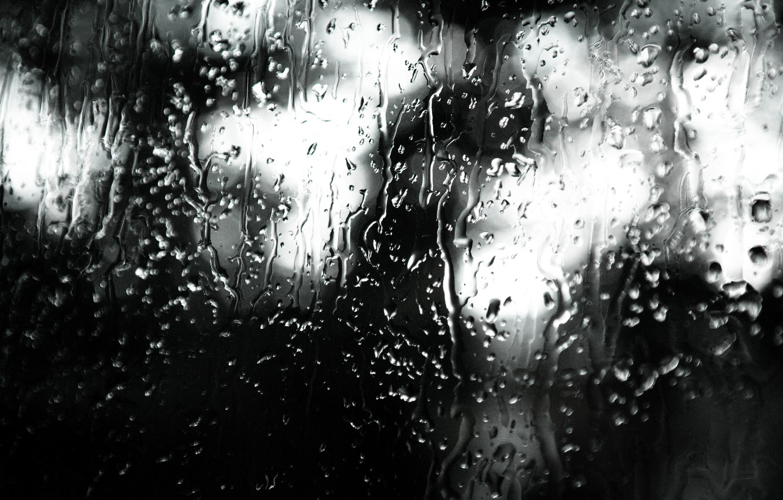 Wallpaper Rain Reflection Window Moody Indoor Rainy