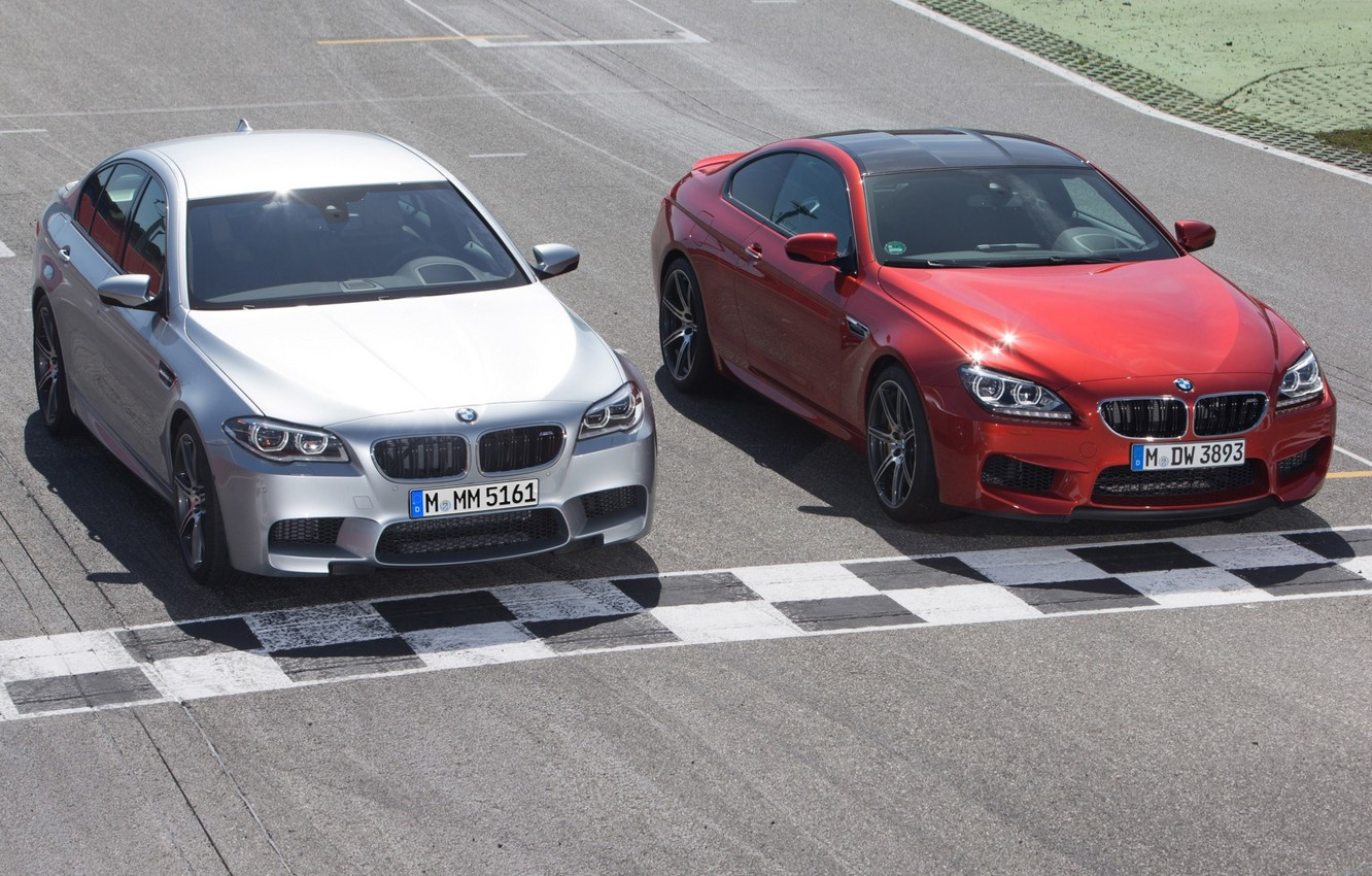 Photo wallpaper track, BMW, front view, cars, and, Competition Package, M6 Coupe