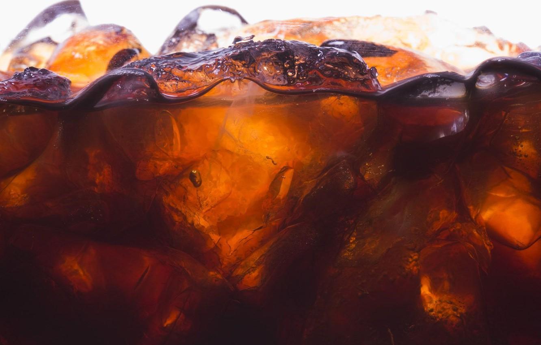 Photo wallpaper water, ice, fresh