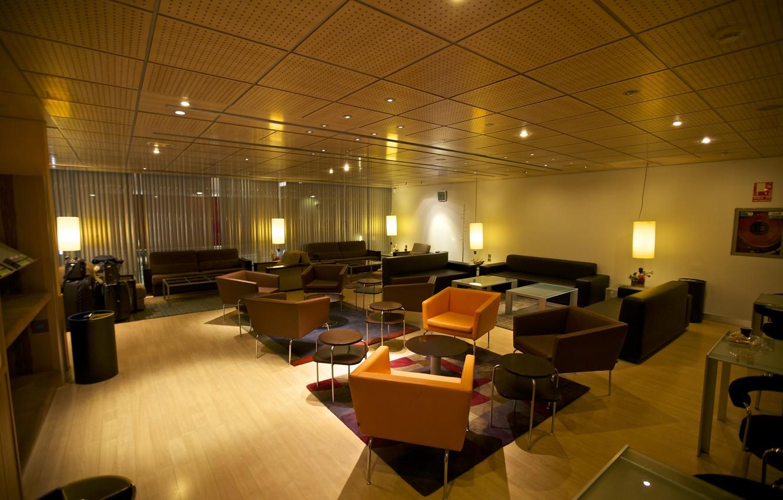 Photo wallpaper Lights, Interior, Furniture, Zaragoza Station
