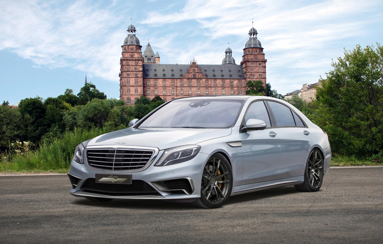 Photo wallpaper mercedes-benz, s65, w222