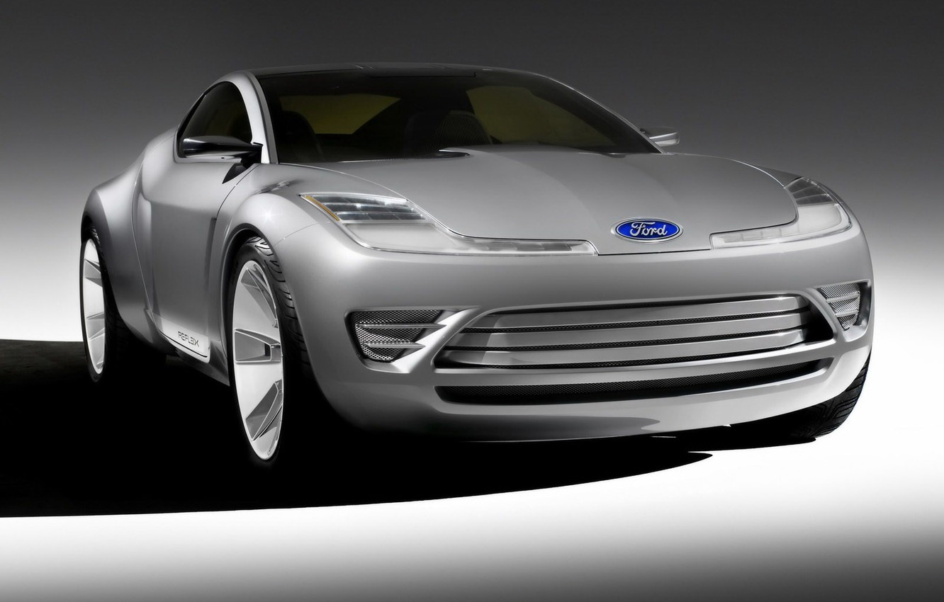 Photo wallpaper Ford, shadow, concept