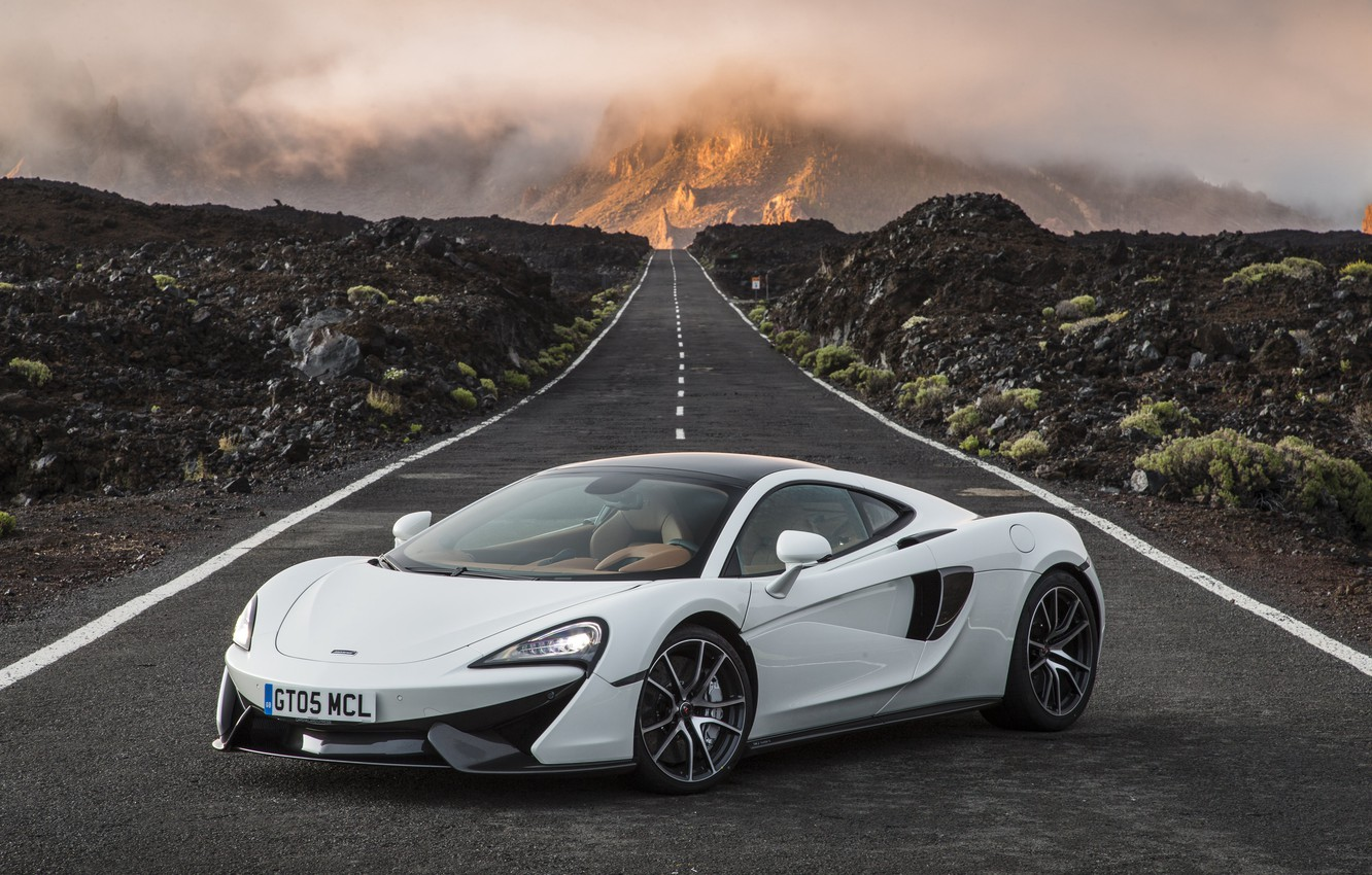 Photo wallpaper road, car, McLaren, wallpaper, supercar, car, road, beautiful, 570GT
