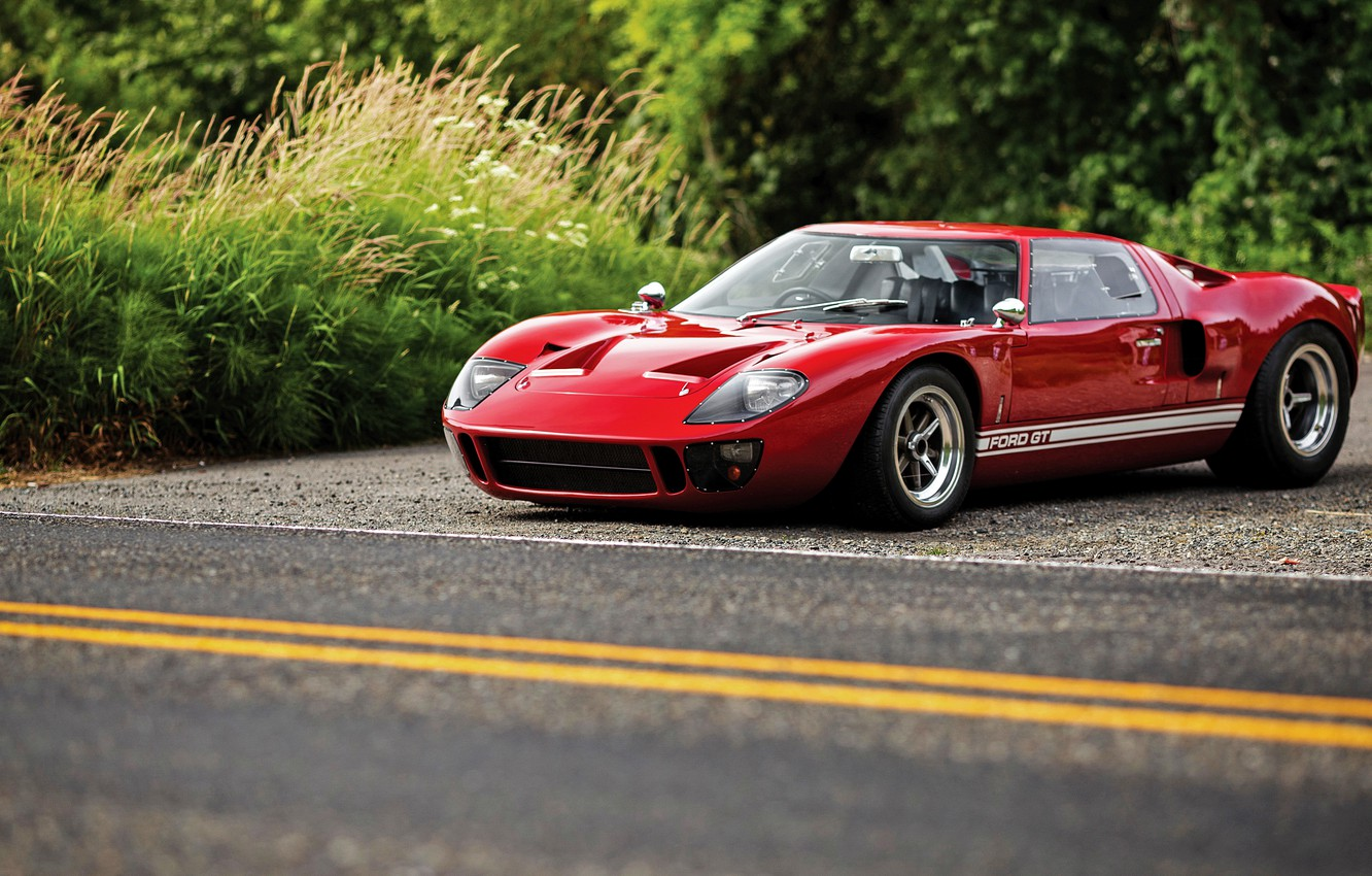 Photo wallpaper Ford, supercar, Ford, GT40