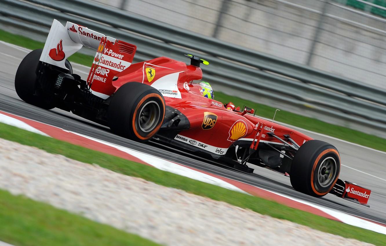 Photo wallpaper red, sport, Ferrari, the car, F138