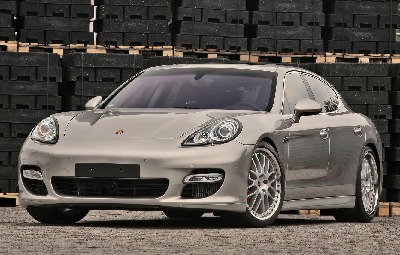 Photo wallpaper Porsche, Panamera, car, metallic