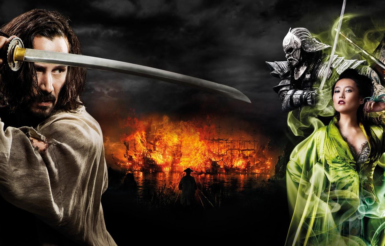 Wallpaper Sword, Samurai, Keanu Reeves, Katana, Keanu Reeves, 47