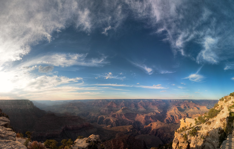 Photo wallpaper The sky, Mountains, Grand canyon