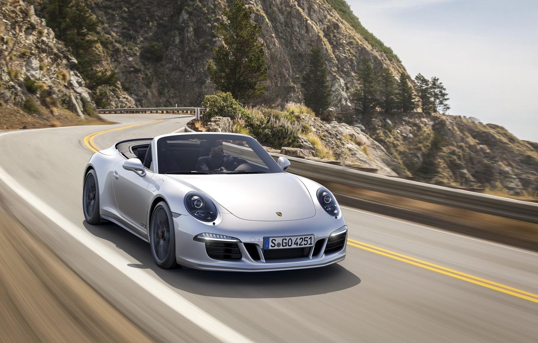 Photo wallpaper 911, Carrera, Cabriolet, PORSCHE, 4-GTS