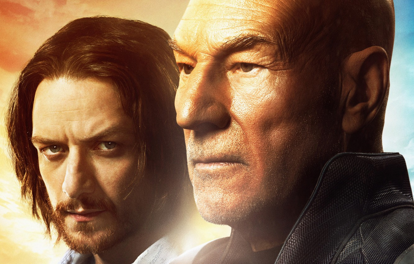 Wallpaper James Mcavoy Patrick Stewart Charles Xavier X Men