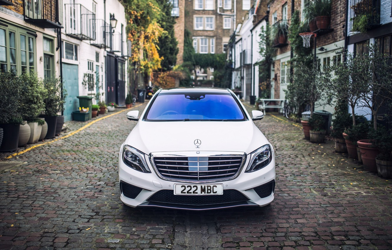 Photo wallpaper Mercedes, AMG, S63
