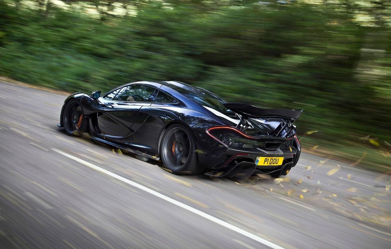Photo wallpaper McLaren, Speed, Speed, Supercar, Supercar