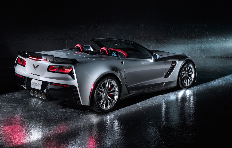 Photo wallpaper car, Chevrolet, Corvette, Convertible, The Corvette Z06