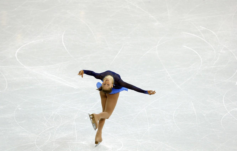 Photo wallpaper ice, figure skating, RUSSIA, Olympic champion, Sochi 2014, Yulia Lipnitskaya, skater, Yulia Lipnitskaya, sochi 2014 …