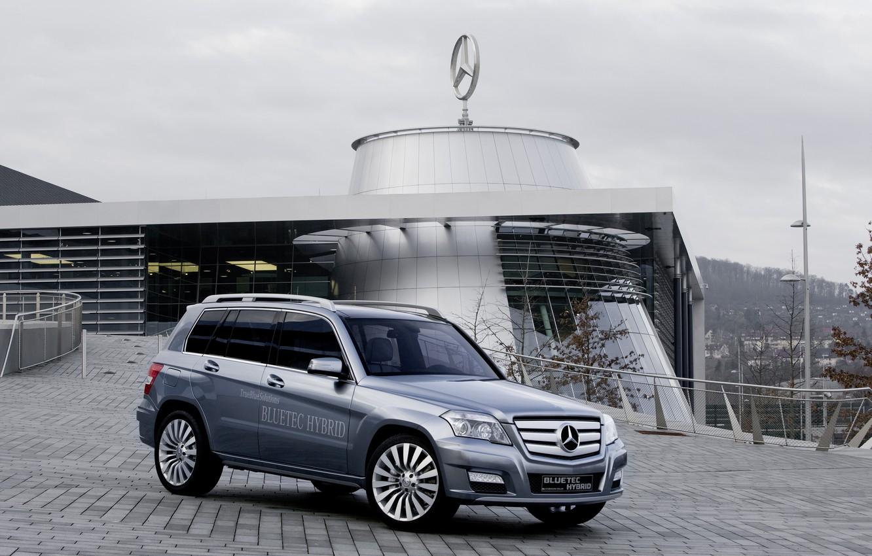 Photo wallpaper Mercedes, GLK, Hybrid