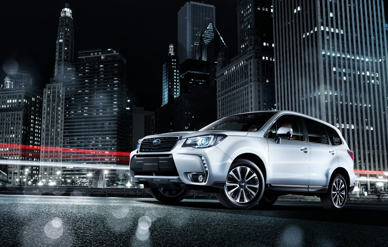 Photo wallpaper Subaru, Subaru, Forester, crossover, Forester