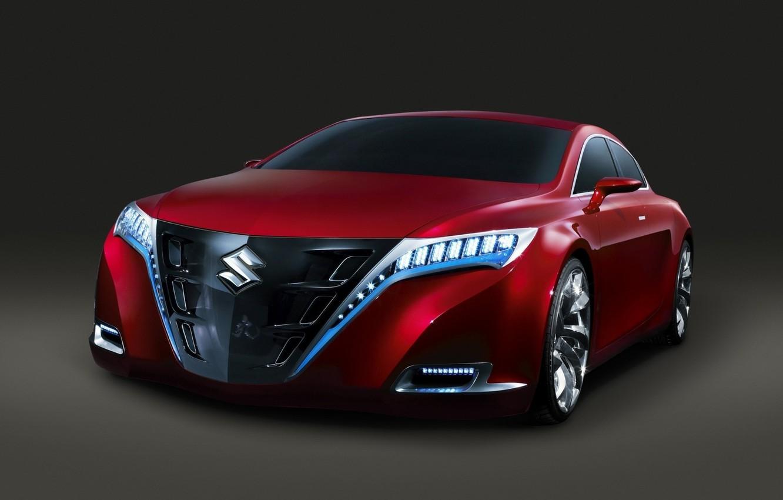 Photo wallpaper Red, Machine, Suzuki, Beautiful, Machine, Suzuki, download, Krasivata
