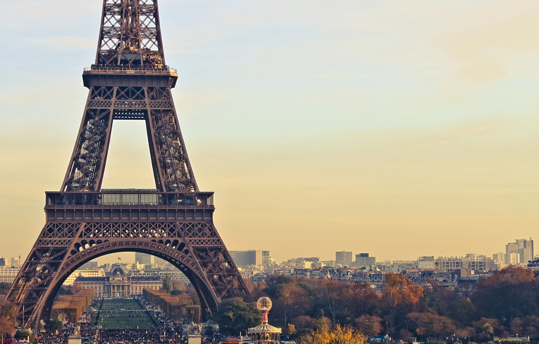 Photo wallpaper France, Paris, Eiffel tower, Paris, France, Eiffel Tower
