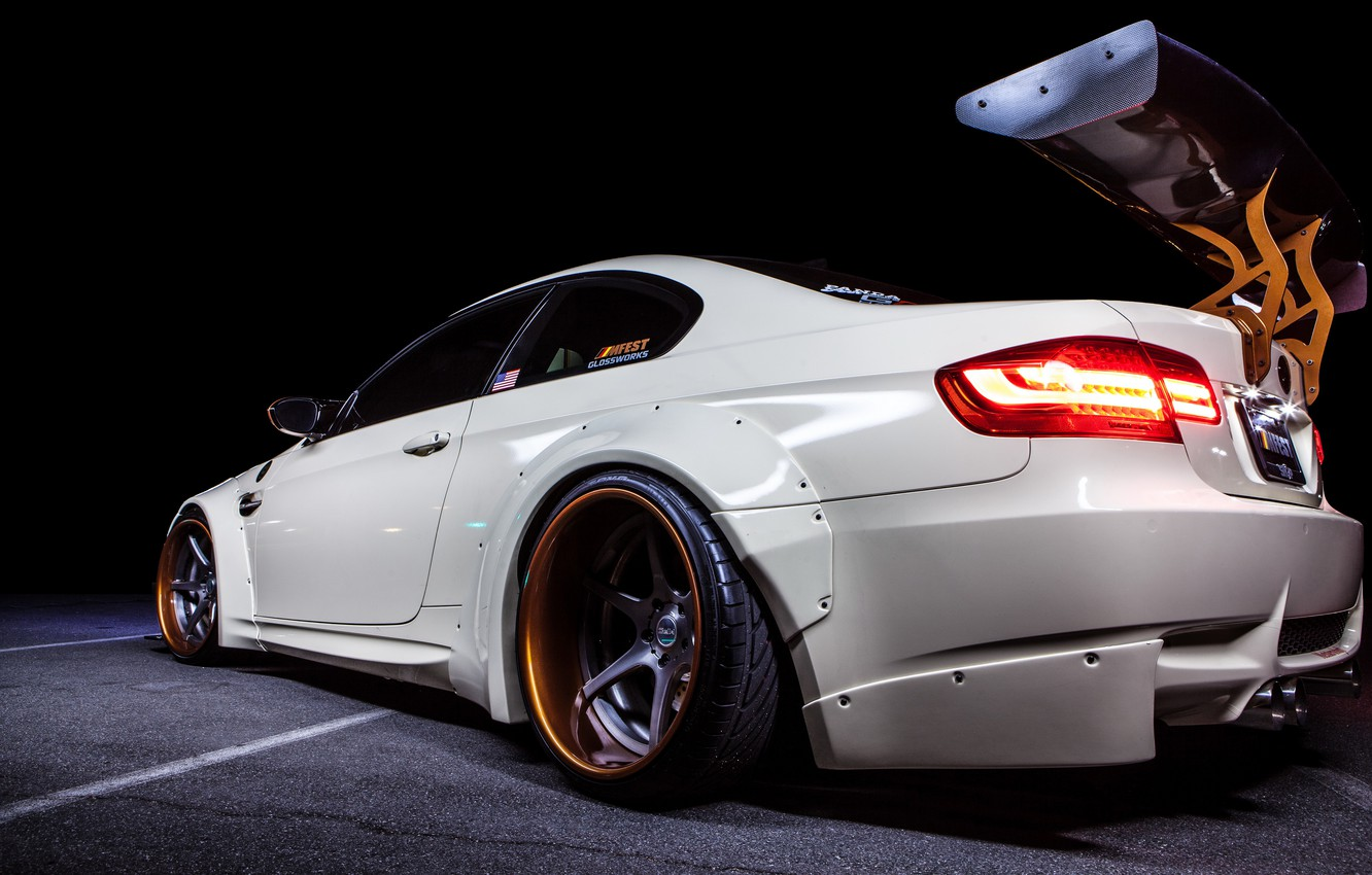 Photo wallpaper car, auto, tuning, BMW, coupe, tuning, bmw m3