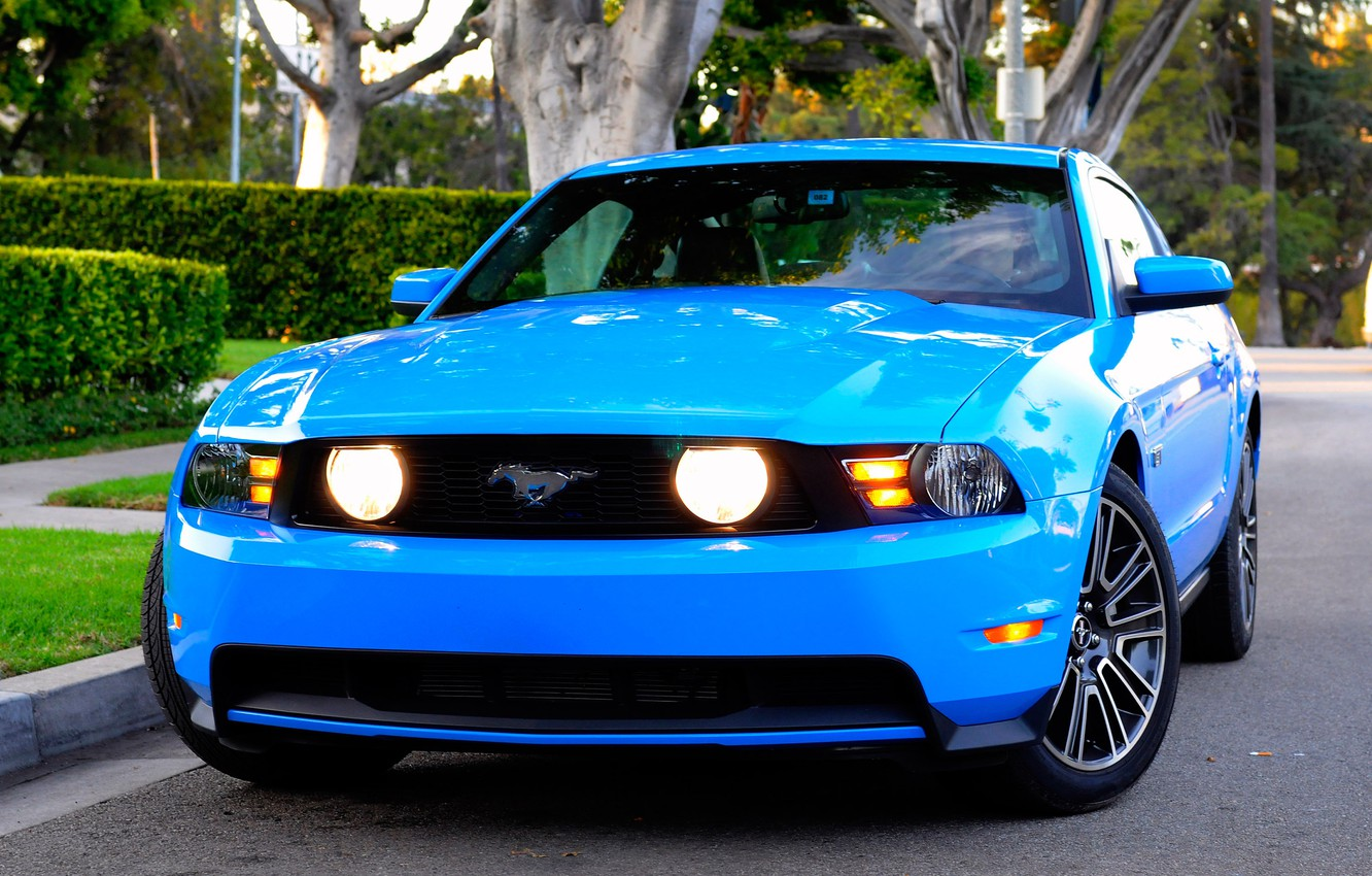 Photo wallpaper Mustang, Ford, 2010
