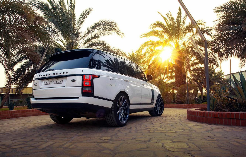 Photo wallpaper SUV, Range Rover, Range Rover