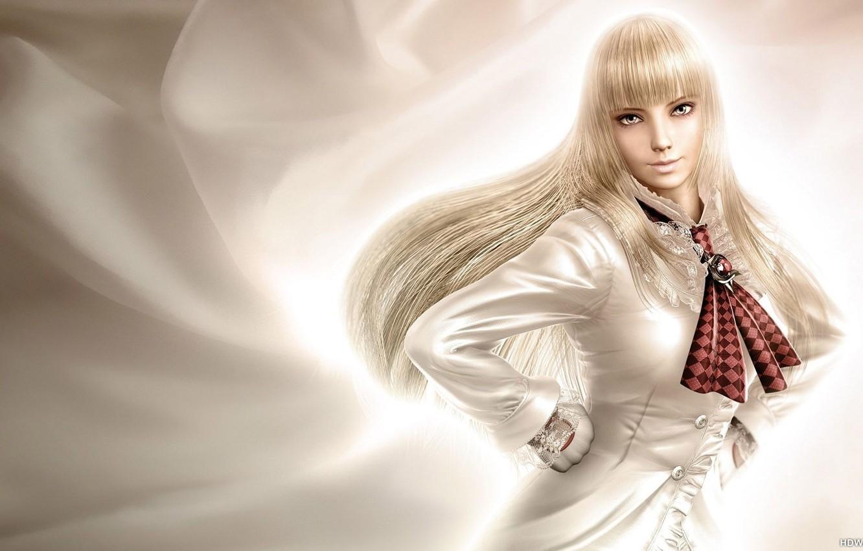 Photo wallpaper look, girl, blonde, gloves, sexy, Tekken, Lili