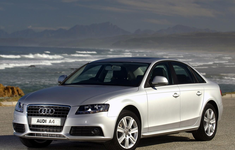 Photo wallpaper Audi, 2.0, tdi, serebro