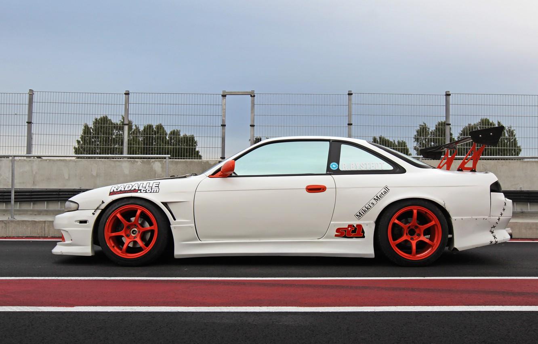 Photo wallpaper Silvia, Nissan, s14