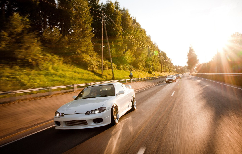 Photo wallpaper S15, Silvia, Nissan, Spec-R, finland, '99