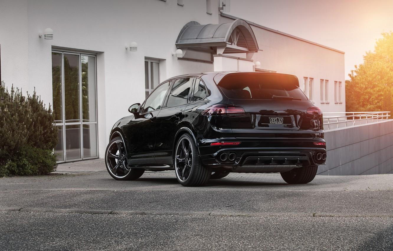 Photo wallpaper Porsche, Porsche, Cayenne, Cayenne, TechArt