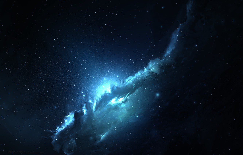 Photo wallpaper space, stars, Galaxy