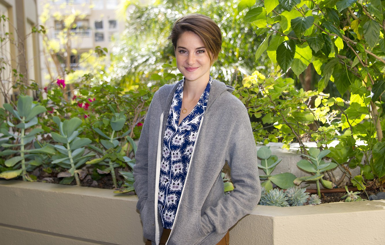 Wallpaper Photoshoot Shailene Woodley The Fault In Our Stars