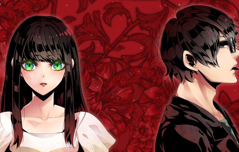 Photo wallpaper girl, anime, art, guy, Subete Ga F Ni Naru