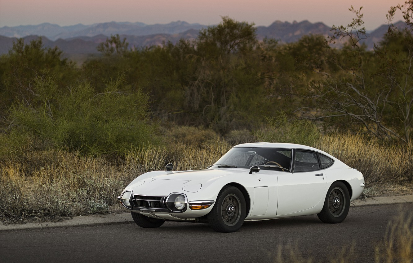 Photo wallpaper Toyota, 1967, 2000GT