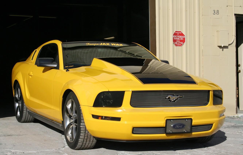 Photo wallpaper Mustang, Ford, Tampa, Jax, Wax