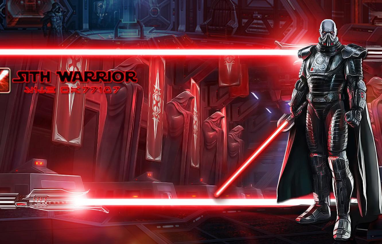 Wallpaper Empire Lightsaber Red Darth Malgus Warrior Sith