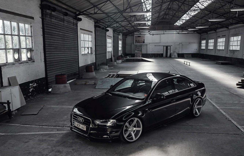Photo wallpaper Audi, sedan