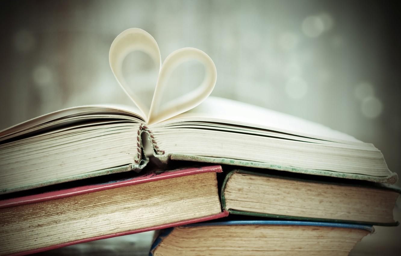 Wallpaper Background Widescreen Wallpaper Mood Heart Book