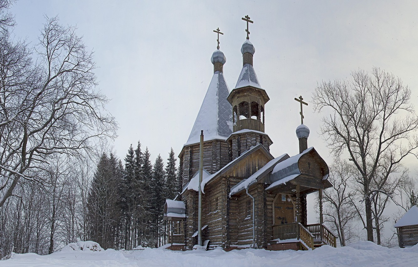 Wallpaper Church Russia Orthodoxy Nikulchina Images For