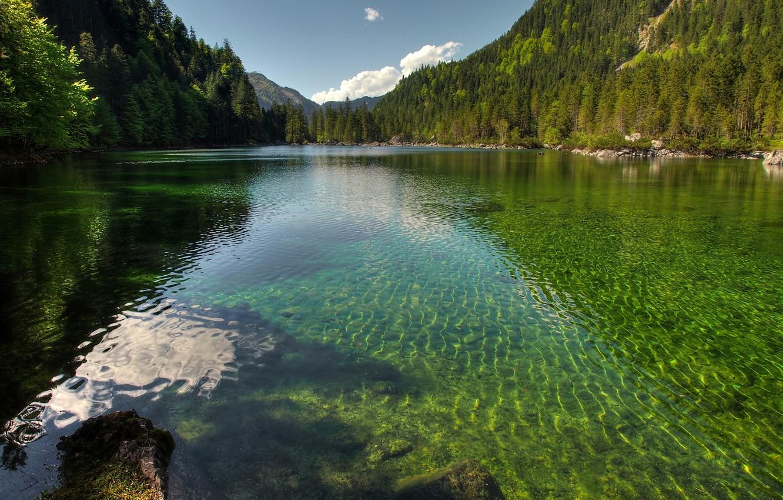 Photo wallpaper lake, Austria, Republic Of Austria, Republika Avstrija, The Republic Of Austria, Republika Austrija, Gosau Valley