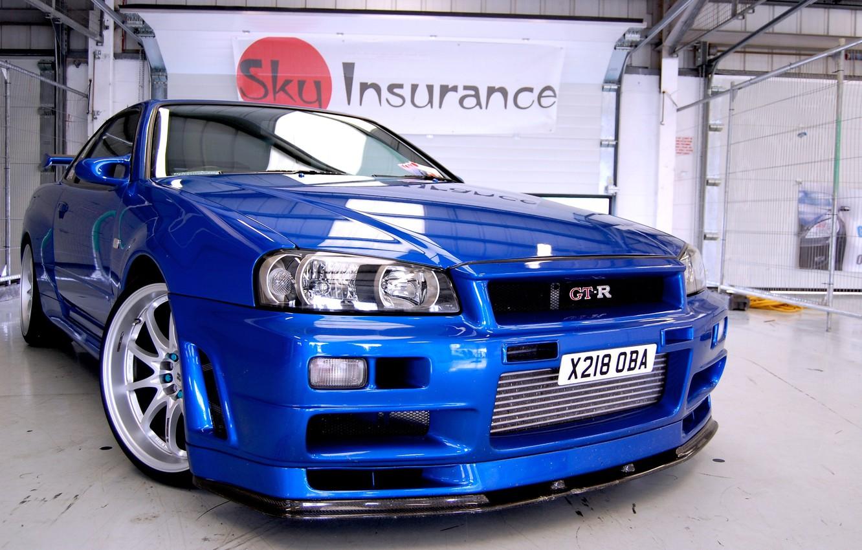 Photo wallpaper cars, nissan, skyline, cars, Nissan, gtr, auto wallpapers, car Wallpaper, r34
