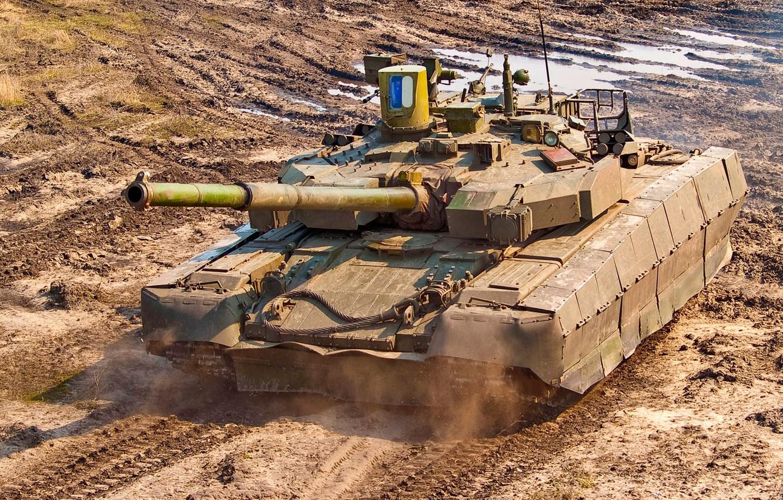 Photo wallpaper tank, armor, Ukraine, T 84, stronghold