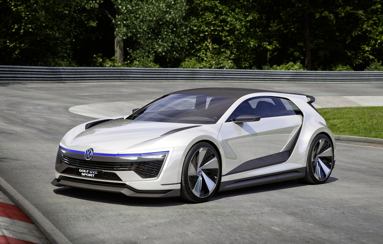 Photo wallpaper Concept, Volkswagen, the concept, Golf, Golf, Volkswagen, GTE