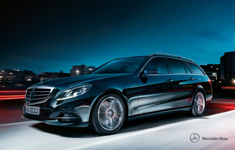 Photo wallpaper Mercedes-Benz, E-class, 2012, Mercedes, universal, Estate, S212