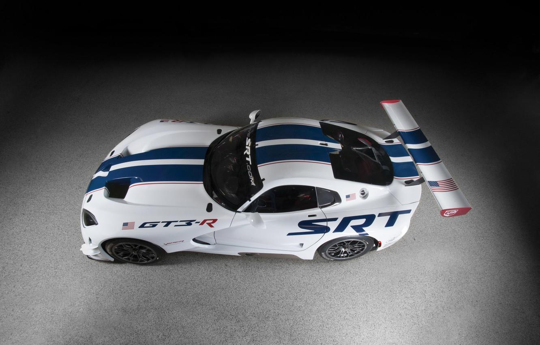 Photo wallpaper car, Dodge, supercar, Viper, Dodge, race, SRT, GT3-R