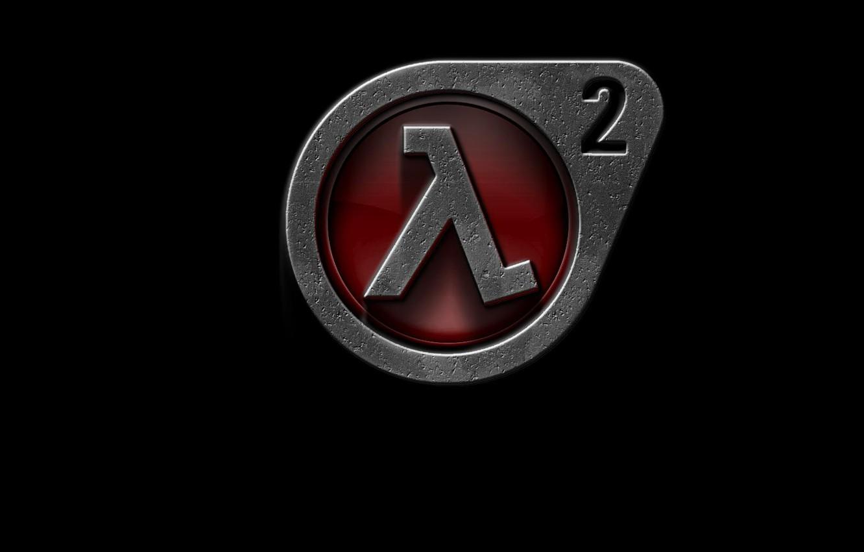 Photo wallpaper logo, half-life 2, lambda (λ)